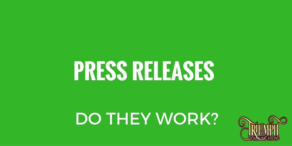 Do Press Releases Work?
